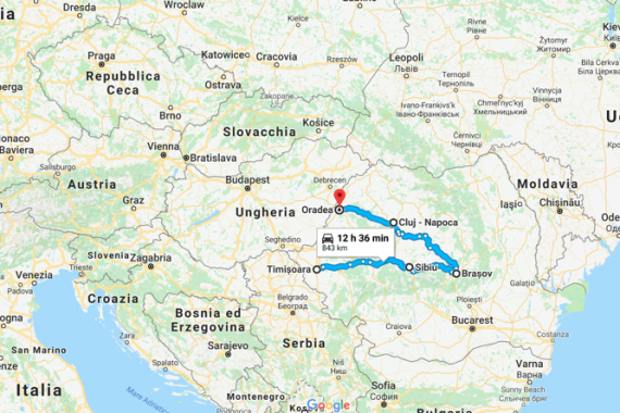 Transilvania on the road. DAY-1 la preparazione del viaggio