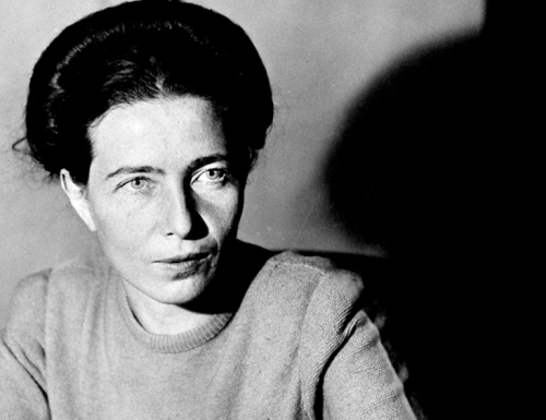 "Simone de Beauvoir: the ""Second Sex"""